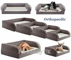 ORTHOPAEDIC MEMORY FOAM dog cat pet bed cushion pillow PAIN RELIEF S, M, L, XL