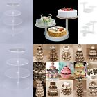 3 4 5 6 7 -Tier Large Acrylic Glass Round Cupcake Tower Stand-Cake Stand-Dessert