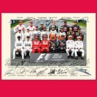 FORMULA 1 GRAND PRIX 2014 Quality Autograph Mounted Signed Photo PRINT A4