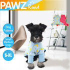 Medium Pet Clothes Dog Pajama Jumpsuit Small Cotton Puppy Cat Sleepwear Coat