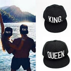 1x King Queen Snapback Fashion Embroidered Snapback Caps Hip-Hop Hats Hot Sale