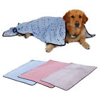 Pet Dog Blanket Fleece Fabric Soft and Cute Dots 3 Colors 3 Size Pet Bed Cushion