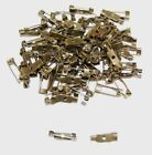 Brooch Bar Pins - Backs for Jewellery Making Findings - Colour & Size Choice