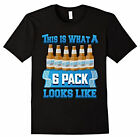 This is what a 6 Pack looks like  tshirt T shirt T-Shirt Free shipping