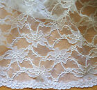 REDUCED TO CLEAR Superb Quality 65% Cotton Corded Bridal / Dress Lace