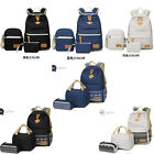 Fashion Women's Backpack School Shoulder Bag Rucksack Canvas Travel Bookbag New