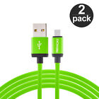 2X High Speed 10ft Micro USB Charging Charger Long Cable for Phones