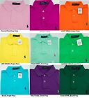 NWT Polo Ralph Lauren MENS INTERLOCK SOFT TOUCH STANDARD FIT POLO SHIRT