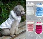 New Trendy Nice Winter Pet Dog Warm Padded Coat Jacket Small Dog Clothes