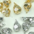 Gorgeous Metal Beads Pendants Gold Silver Beads for Jewelry Making Supplies #228