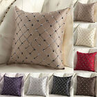 1XHome Sofa Bed Decor Multicolored Plaids Throw Pillow Case Square Cushion Cover
