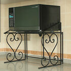 microwave oven cart - 2-Tier Kitchen Storage Cart Microwave Oven Rack Utility Workstation Stand Shelf
