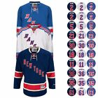 2016 17 New York Rangers REEBOK NHL Premier Player Jersey Collection Mens