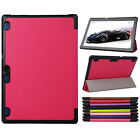 Stylish Ultra PU Leather Stand Case Cover for Lenovo TAB2 A10-70 10.1inch Tablet