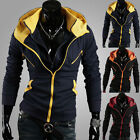 easy228 Stylish Creed Hoodie Cool Slim Men Cosplay For Assassins Jacket Costume