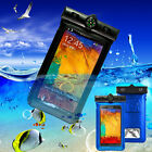 New Waterproof Clear Bag Pouch Case Touch Skin For Samsung Galaxy Note 2 Note 3