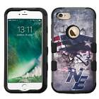 New England Patriots #M Rugged Hybrid Armor Case for iPhone 5/5s/SE/6/6s/7/Plus $19.95 USD on eBay