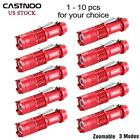 1 To 10 PCS 6000 LM CREE Q5 Torch 3 Modes Outdoor Lamp For Camping Hiking USA KJ