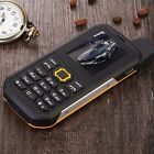 2.2* LCD F8 Unlocked mobile phone waterproof IP67 Quad Band dual SIM cellphone