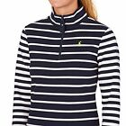 Joules Fairdale Ladies Sweatshirt (V) New Style  Colour French Navy Stripe UK 20