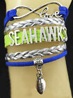 Seattle Seahawks Braided Leather Woven Bracelet *FREE SHIPPING*, #SportsBracelet on eBay