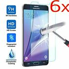 6x 9H Tempered Glass Film Screen Protector Guard for Samsung GALAXY J1-J7 S3-S7
