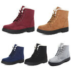 1 Pair Women's Girls Warm Snow Boots Winter Short Boots Stylish Flattie Shoes