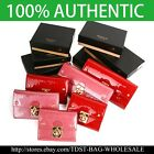[OMNIA]Korea Crystal Ladies Wallet  Leather Trifold Purse ID Card Coins Bag  image