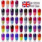 10ML Ukiyo Thermal Color Changing UV Gel Polish No Wipe Top Base Coat