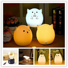 LED Animal Night Light Kids Bedroom Lamp Cute Cat Pig Dog USB Gift Creative Hot
