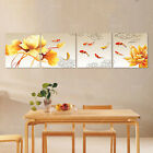 4Pcs Framed HD Print gold Fishes home wall art decor canvas oil painting