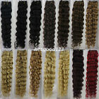 Top Quality Brazilian Deep Wave Virgin Hair 100% Human Hair Weave Curly 100g