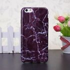 For Apple IPhone 5 5s SE 6 6s Plus Marble Soft TPU Skin Back Cover Phone Case