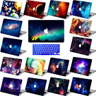 "Galaxy Rubberized Cut-Out Hard Case Cover For Macbook PRO 13"" 15"" w/no TOUCH BAR"