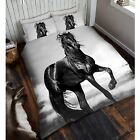 PHOTO PRINT ANIMAL DUVET COVERS SINGLE, DOUBLE & KING - HORSES, LEOPARD, TIGER