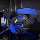 LED Surround Stereo Gaming Headset Headband Headphone USB 3.5mm Mic For PC Mac
