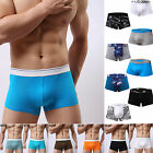 Mens Print Underwear Boxer Briefs Comfortable Shorts Cotton Underpants Underwear