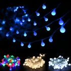 3M/5M LED Ball Fairy String Lights Lamp Xmas Holiday Weeding Party Home Decor