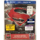 Batman v Superman: Dawn of Justice Blu-ray+DVD+Digital HD Ultimate Ed. Steelbook