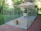 K9 Kennel Ultimate Galvanized Steel Yard Kennel