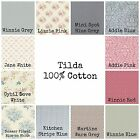 TILDA 100% COTTON FABRIC - HUGE CHOICE OF DESIGNS