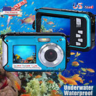 Внешний вид - US Double Screen Waterproof Dive Full HD 1080P 24MP 16x Digital Zoom CMOS Camera