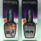 Broadway HALLOWEEN Press On NAILS Manicure SPIDER WEB or CANDY CORN 24 per Box