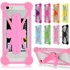 "Silicone Case Bumper Frame Skin Cover W/Kickstand Universal For All 4""-6"" Phones"