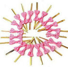 FD1714 Metallic Twist Wire Tie Bowknot Candy Sweet Cookie Cake Cello Bag Party