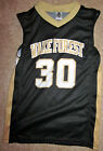 WAKE FOREST DEMON DEACONS YOUTH BASKETBALL JERSEY NCAA #30 NEW YOUTH M, L OR XL