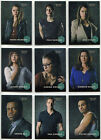 Orphan Black Season 1 Character Bios Complete 9 Card Chase Set C1 to C9