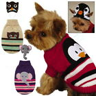 Dog Puppy Sweater w. Hat - Piggyback Pals Set - Zack & Zoey - Choose Size