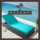 MODENZI LOUNGE CHAIR Outdoor Wicker Rattan Sectional Patio Furniture Sofa Set