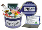 OVER THE HILL SURVIVAL KIT IN A CAN. Novelty Fun Joke Friend Birthday Gift
